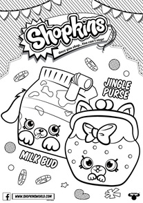 Shopkins Season 4 Coloring Pages